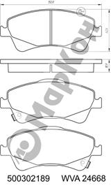 НОВИНКА 2018 года. Передние и задние колодки для автомобилей TOYOTA