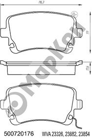 НОВИНКА 2018 года. Передние колодки для автомобилей AUDI VW BENTLEY